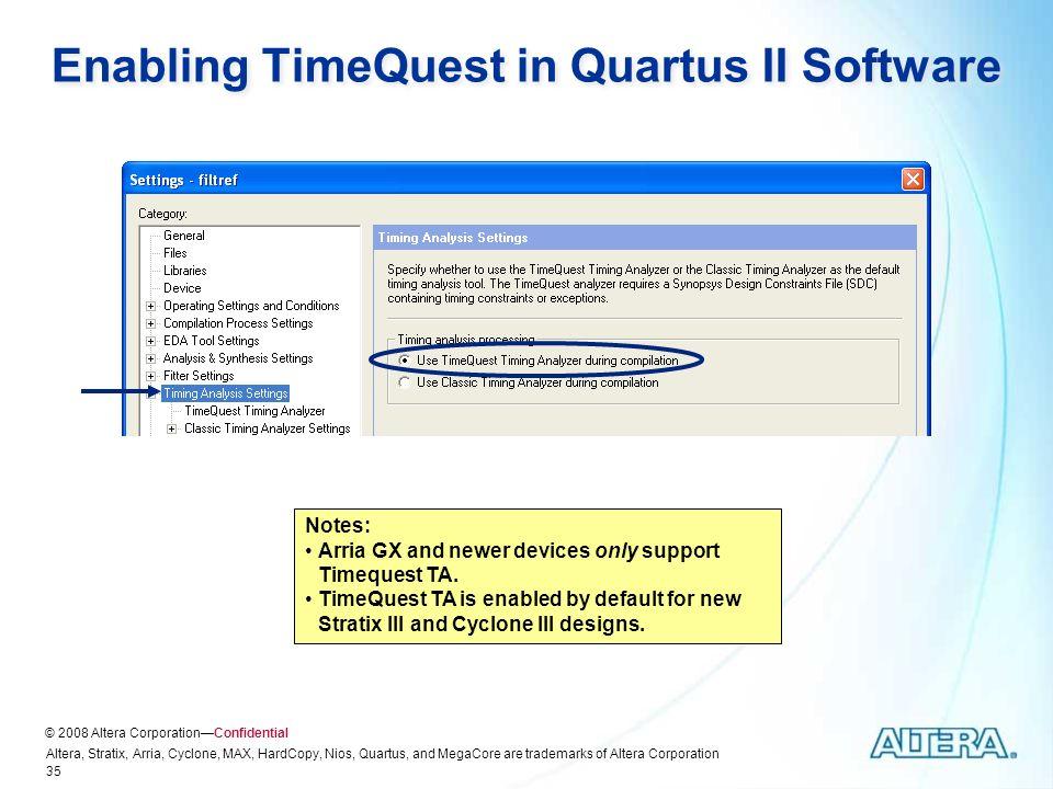 Quartus II Software Design Series: Timing Analysis - ppt