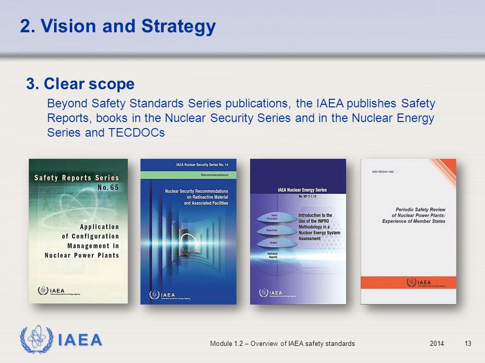2. Vision and Strategy 3. Clear scope
