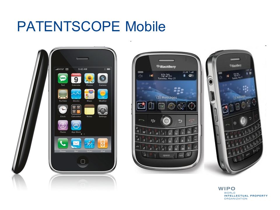 PATENTSCOPE Mobile We are happy to present you our least development which is a search interface for mobile phone.