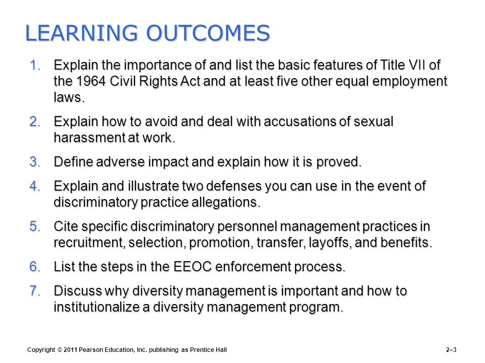 Sexual harassment title vii enforcement