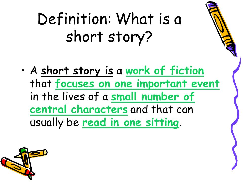 Definition: What is a short story
