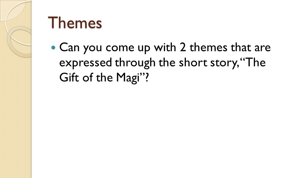 the gift of the magi character analysis