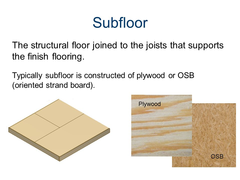 Common Components of a Traditional Wood Framed Building - ppt video ...