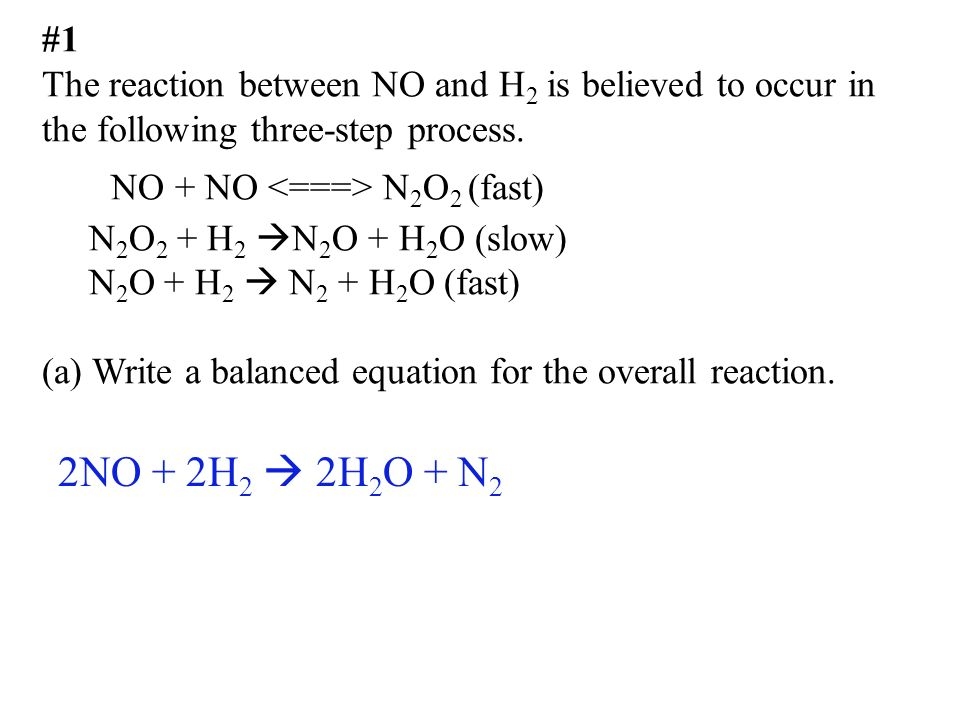 Chapter 12 AP Kinetics worksheet #2 - ppt video online download