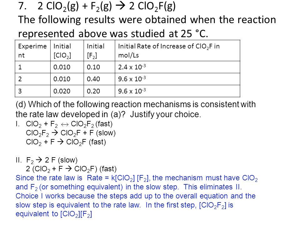 Chapter 12 AP Kinetics worksheet #2 - ppt video online download