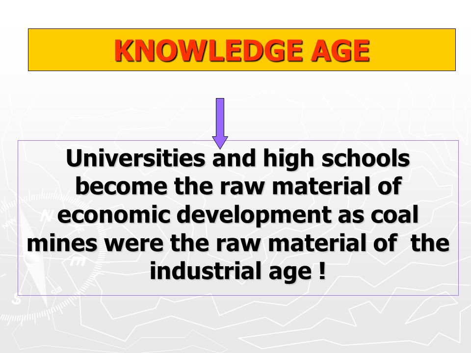 KNOWLEDGE AGE