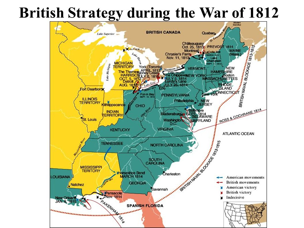7 British Strategy during the War of 1812