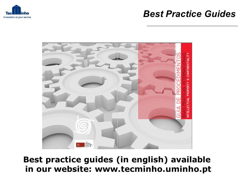 Best Practice Guides Best practice guides (in english) available