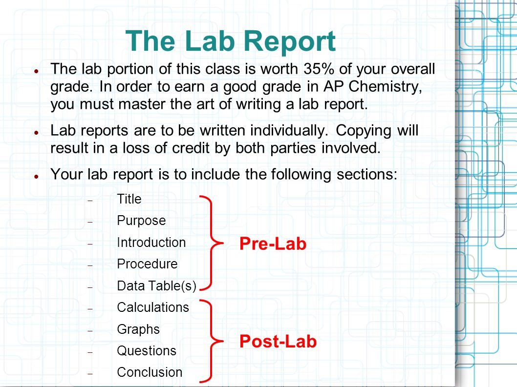 how to write a good conclusion for a lab report