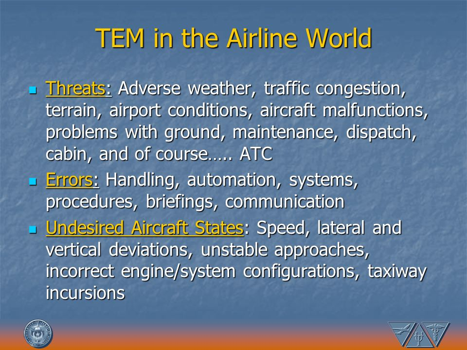 TEM in the Airline World