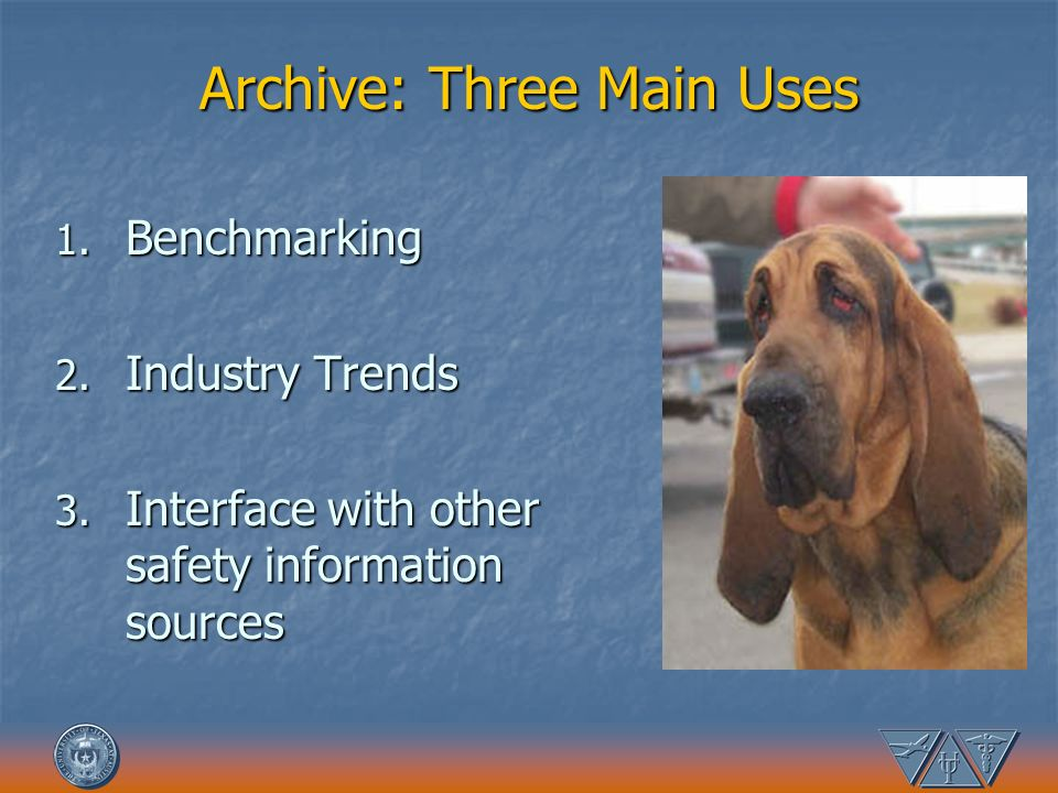 Archive: Three Main Uses