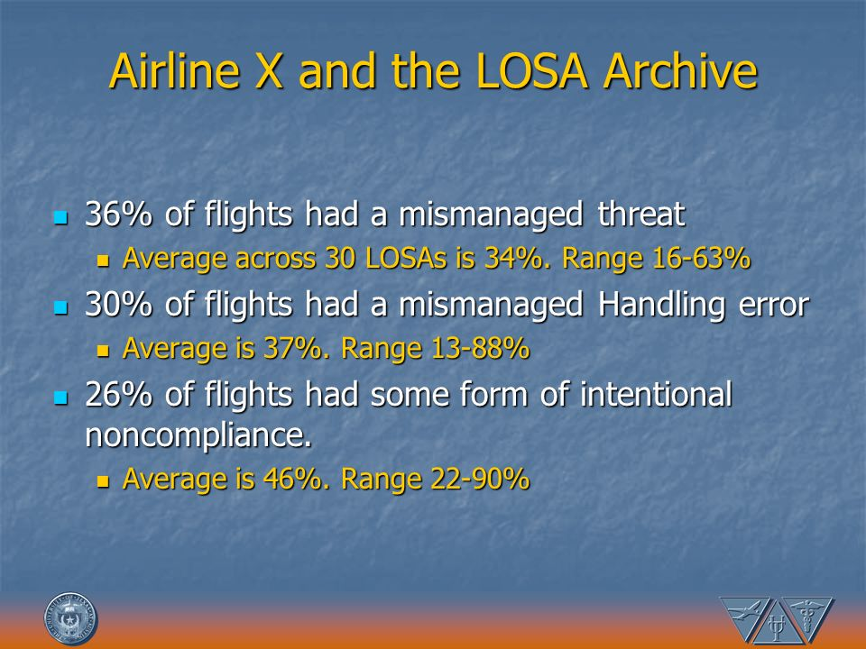 Airline X and the LOSA Archive
