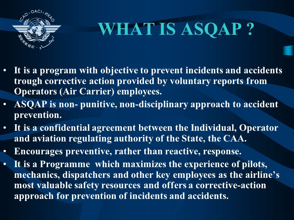 WHAT IS ASQAP