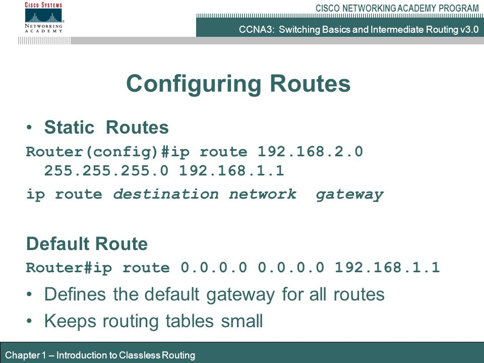 Introduction to classless routing ppt video online download 18 configuring greentooth Images