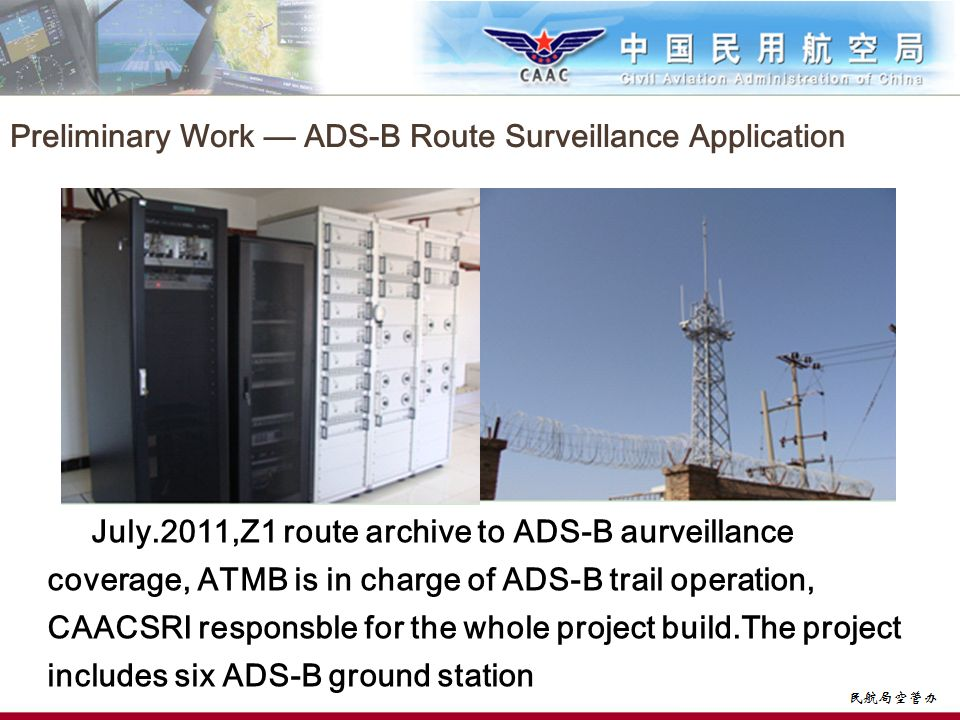 Preliminary Work — ADS-B Route Surveillance Application