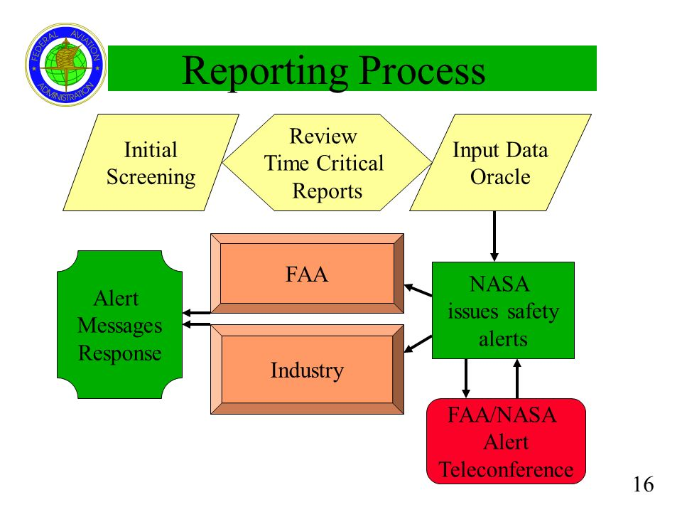 Reporting Process Initial Screening Review Time Critical Reports