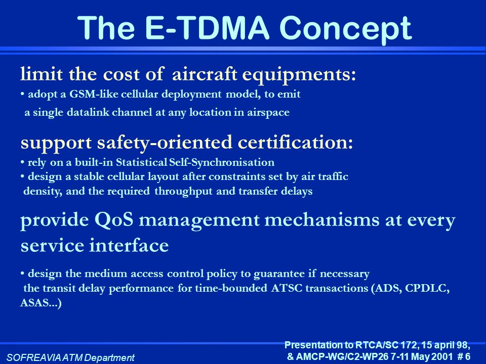 limit the cost of aircraft equipments: