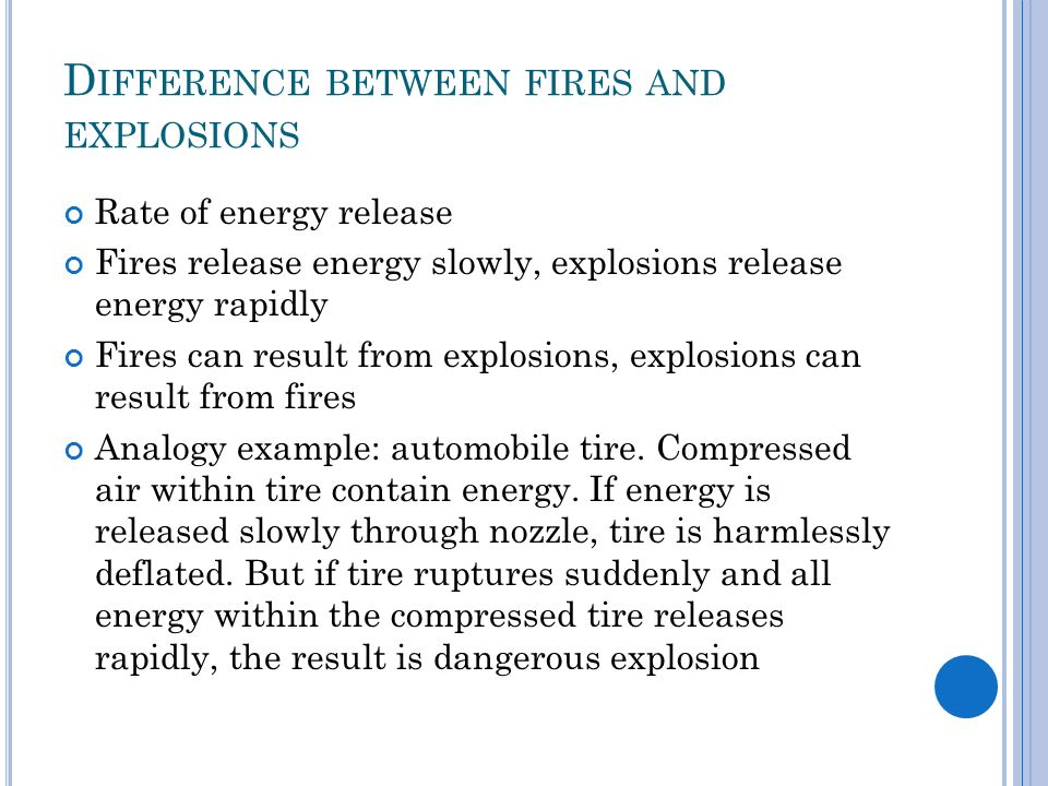 FIRES AND EXPLOSION  - ppt video online download