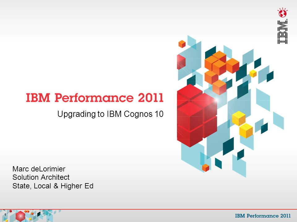 Upgrading to IBM Cognos ppt download