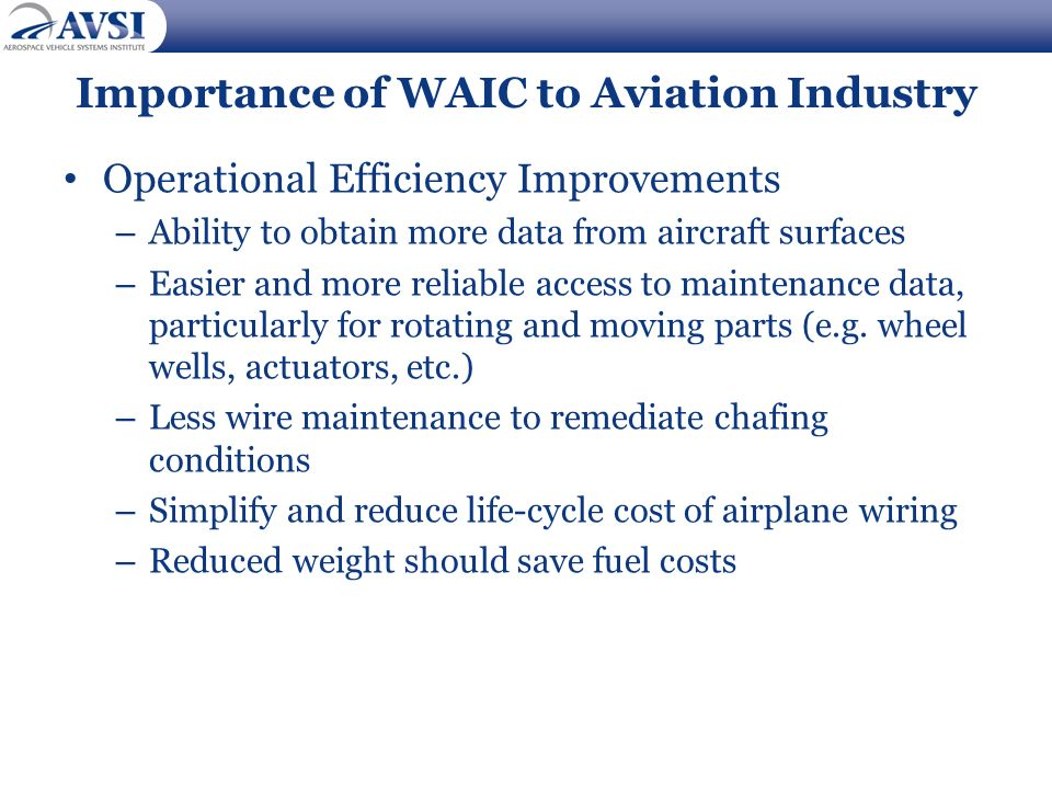 Importance of WAIC to Aviation Industry