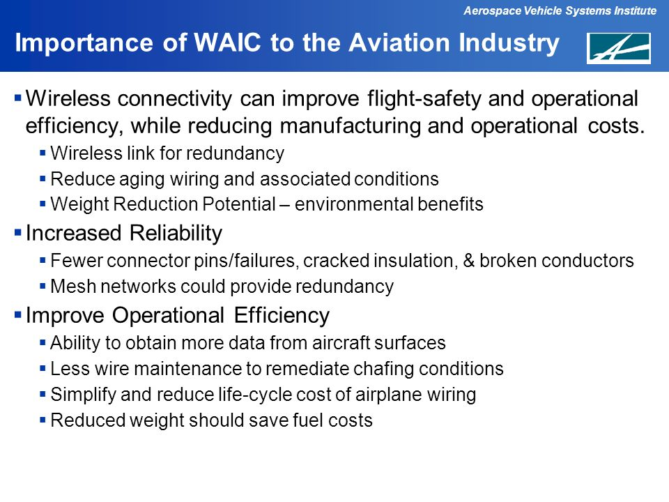 Importance of WAIC to the Aviation Industry