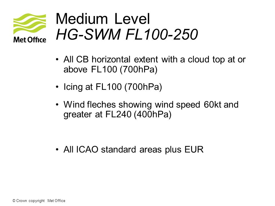 Medium Level HG-SWM FL100-250