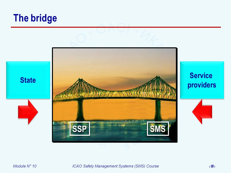 The bridge State Service providers SSP SMS