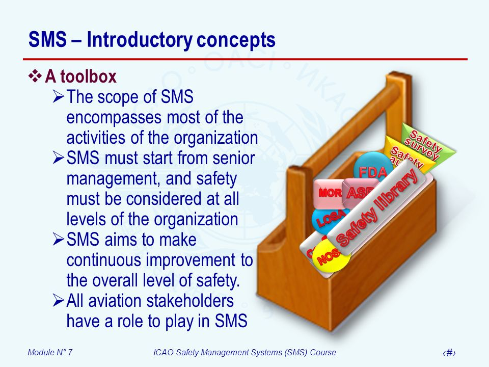 SMS – Introductory concepts