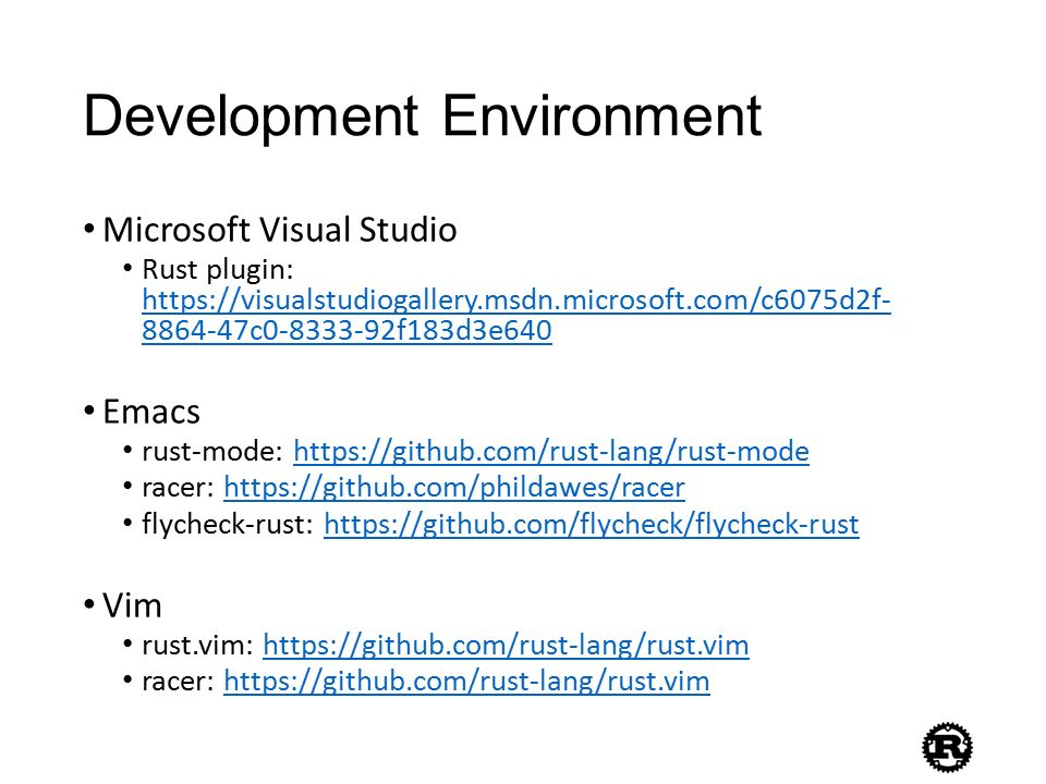 An Introduction to Rust Programming Language - ppt video