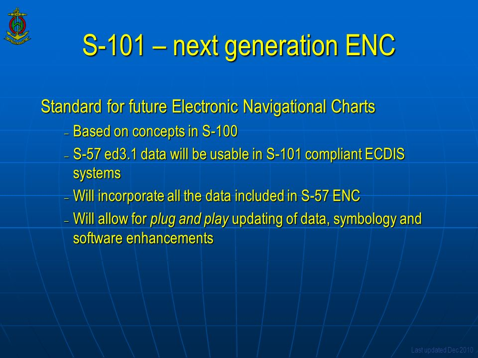 S-101 – next generation ENC