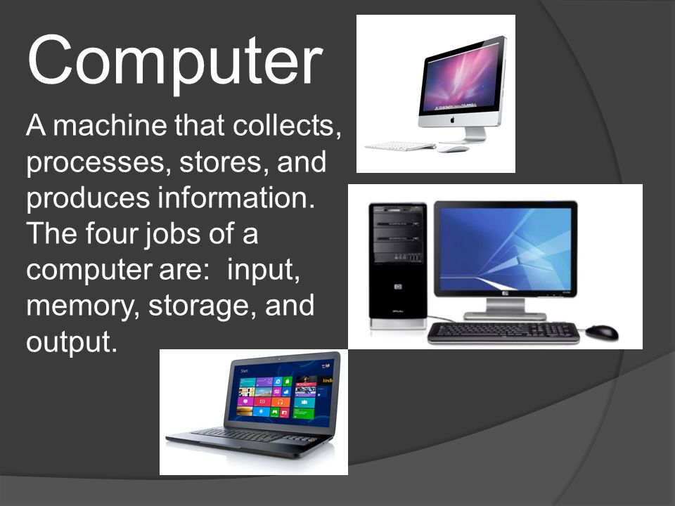 Major Computer Parts  - ppt video online download