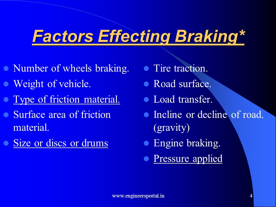 AUTOMOTIVE BRAKING SYSTEMS - ppt video online download
