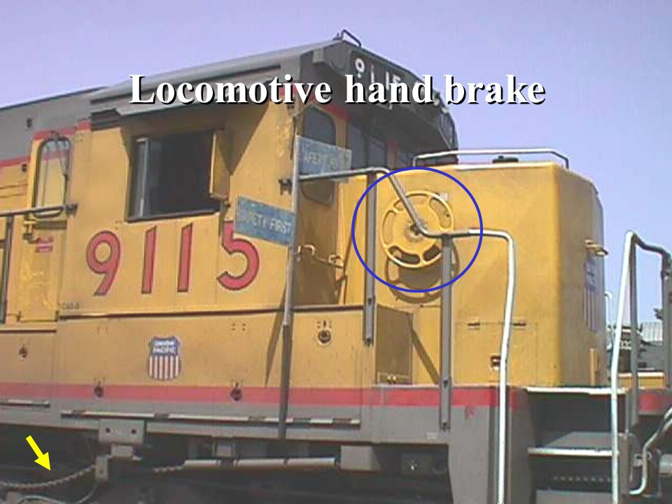 Locomotive and Car Brake Systems - ppt video online download