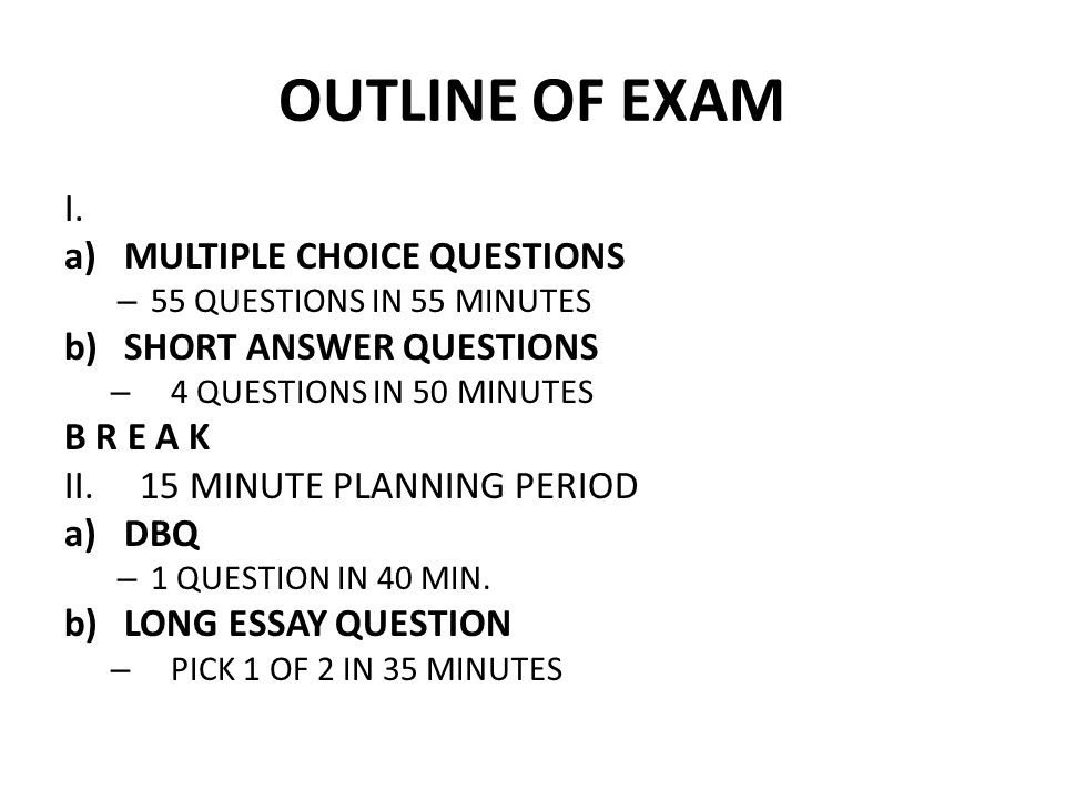 APUSH EXAM WRITING CLINIC - ppt video online download