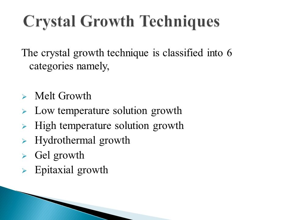 CRYSTAL GROWTH TECHNIQUES PDF DOWNLOAD