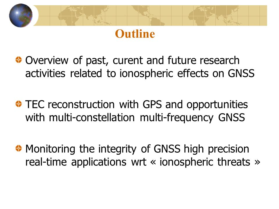 Monitoring the ionospheric activity using GNSS - ppt video