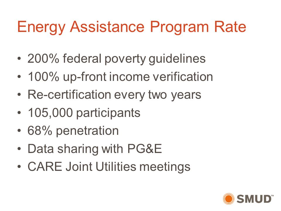 Smud Low Income Programs Ppt Video Online Download
