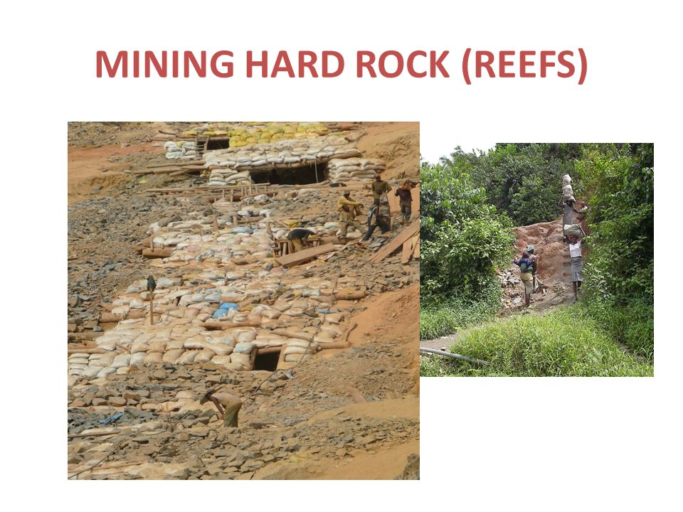 MINING HARD ROCK (REEFS)