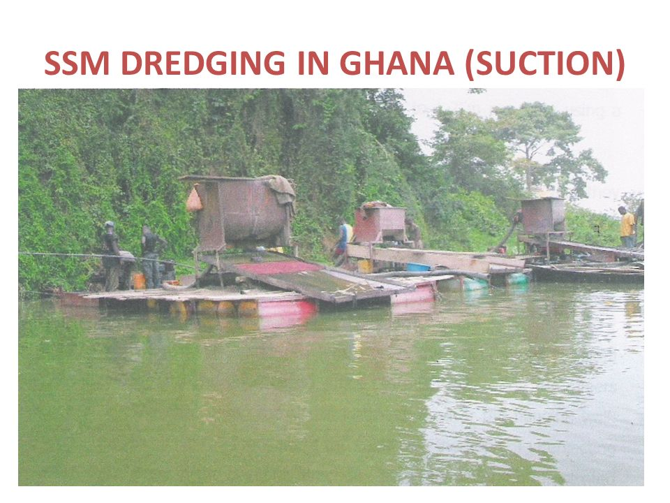 SSM DREDGING IN GHANA (SUCTION)
