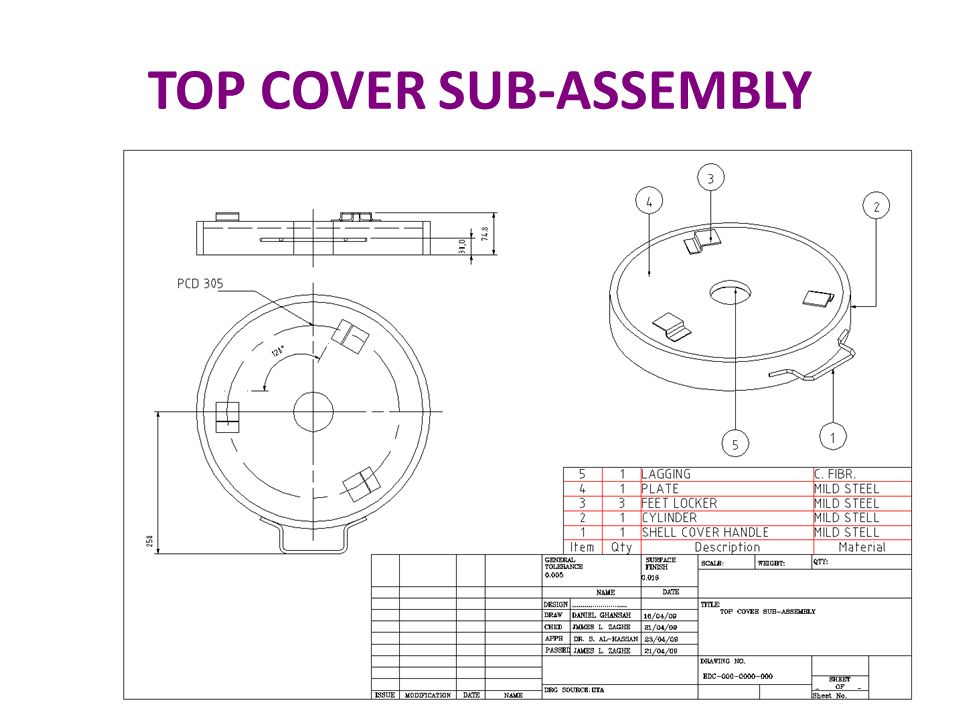 TOP COVER SUB-ASSEMBLY