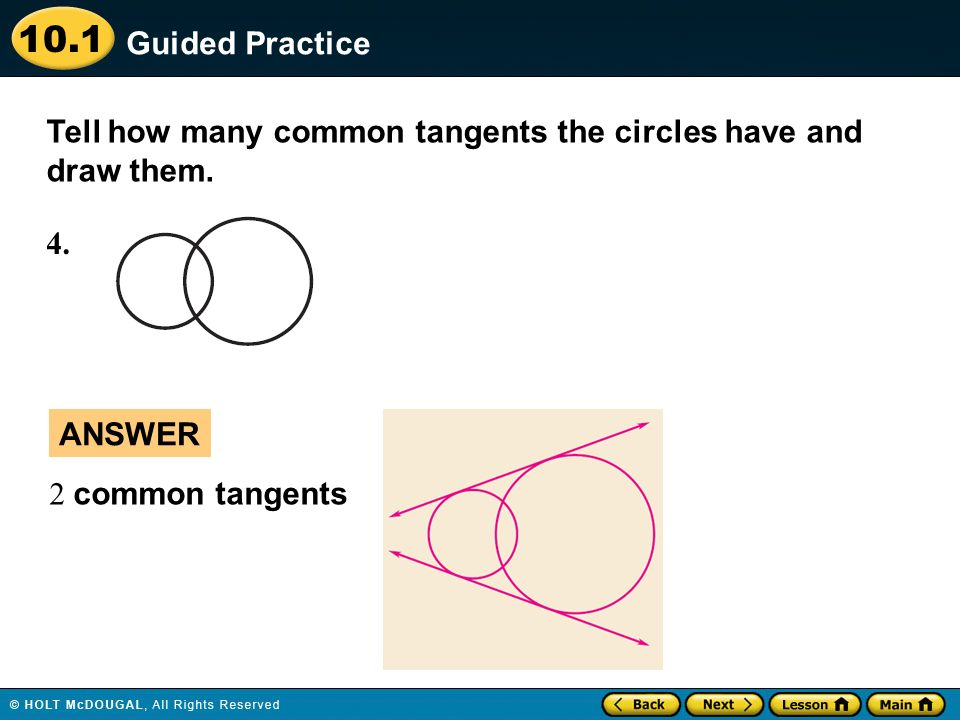 use properties of tangents ppt video online download rh slideplayer com