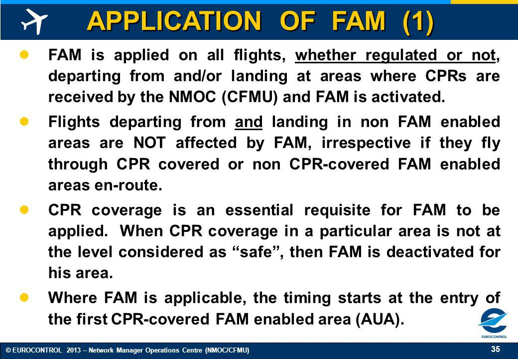 APPLICATION OF FAM (1)