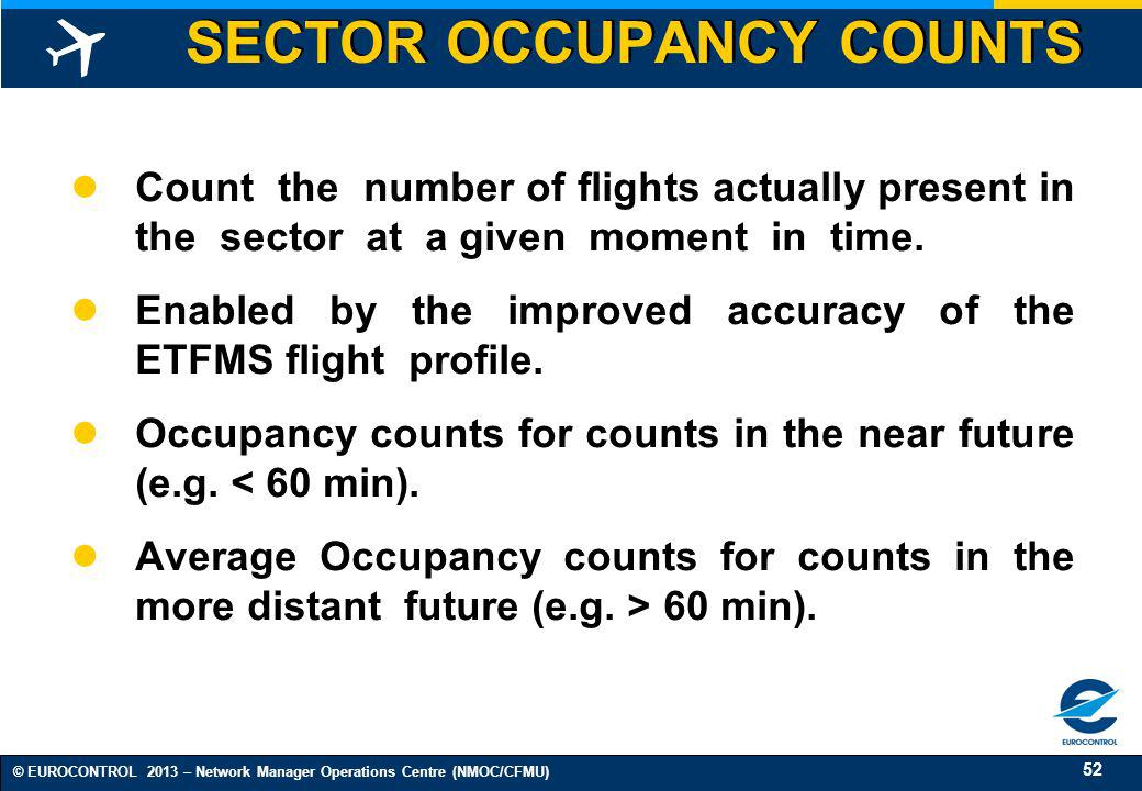 SECTOR OCCUPANCY COUNTS