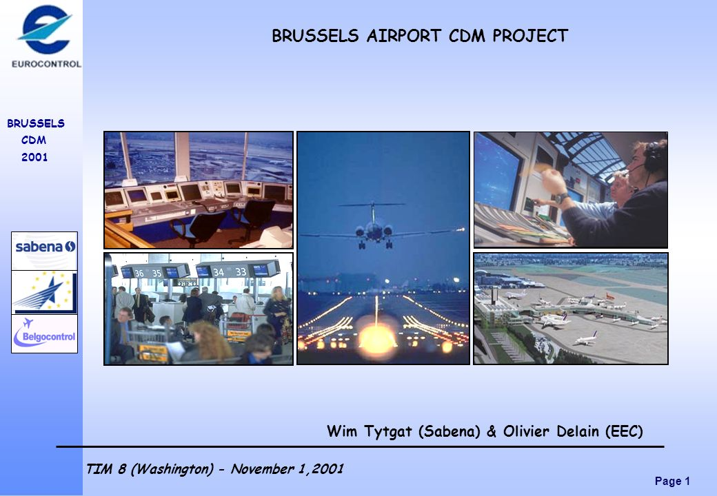 BRUSSELS AIRPORT CDM PROJECT