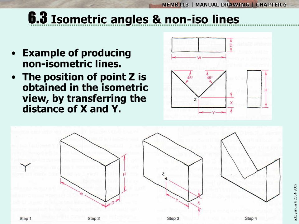 Isometric Projection Drawing - ppt video online download