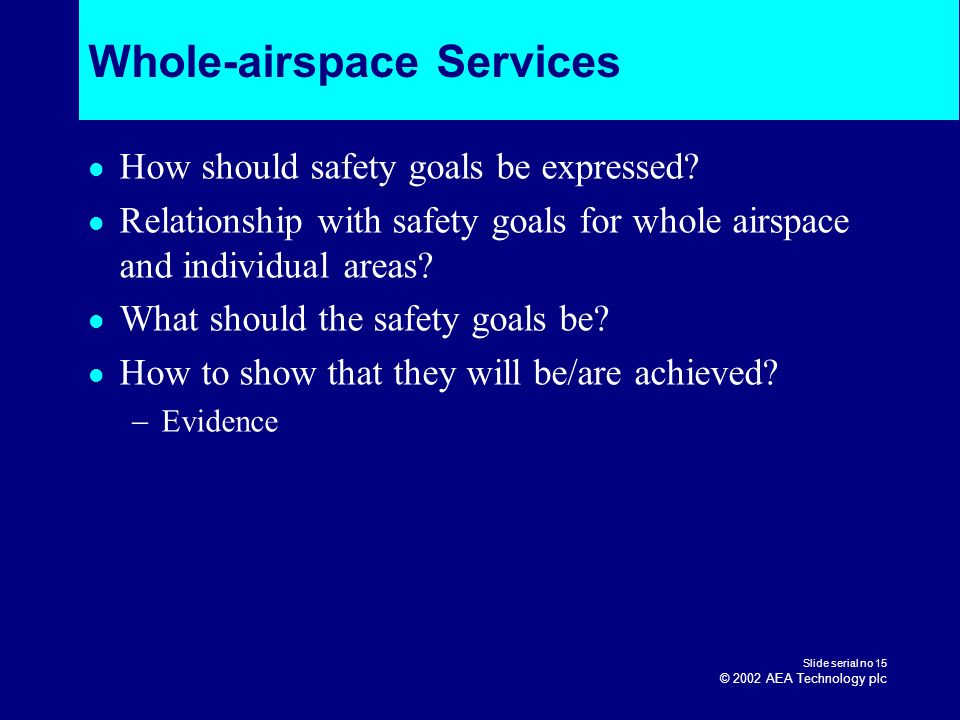Whole-airspace Services