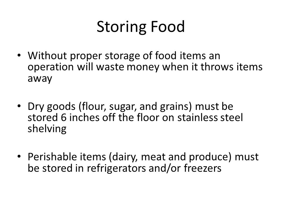 4 Storing Food Without proper ...  sc 1 st  SlidePlayer & Chapter 5: Kitchen Essentials 2 u2013 Equipment and Techniques - ppt ...