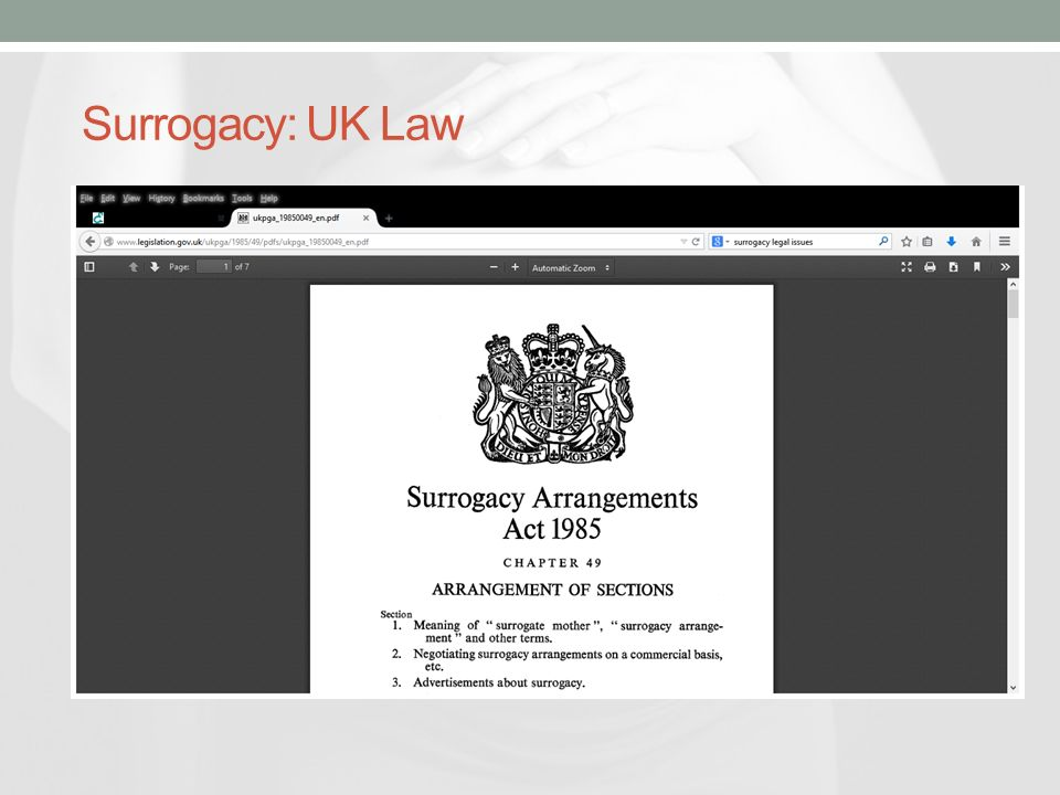 Soms And Surrogacy Presentation By South Eastern Trust Soms Ppt