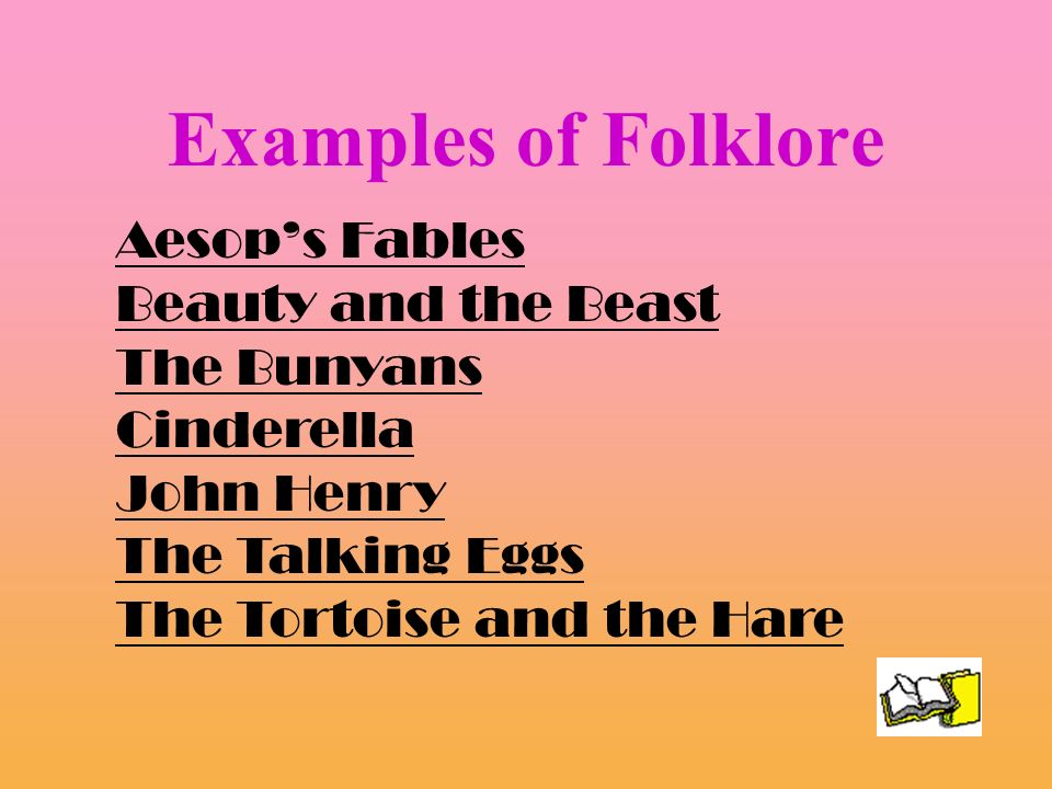 example folklore