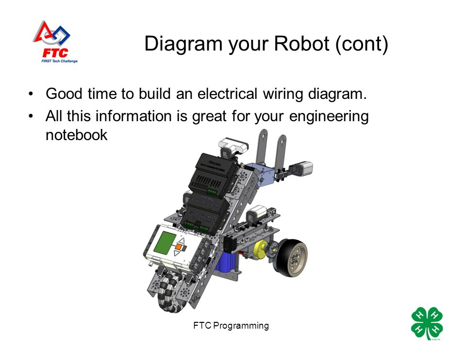 robotc programming making your robot move eric and christina rh slideplayer com